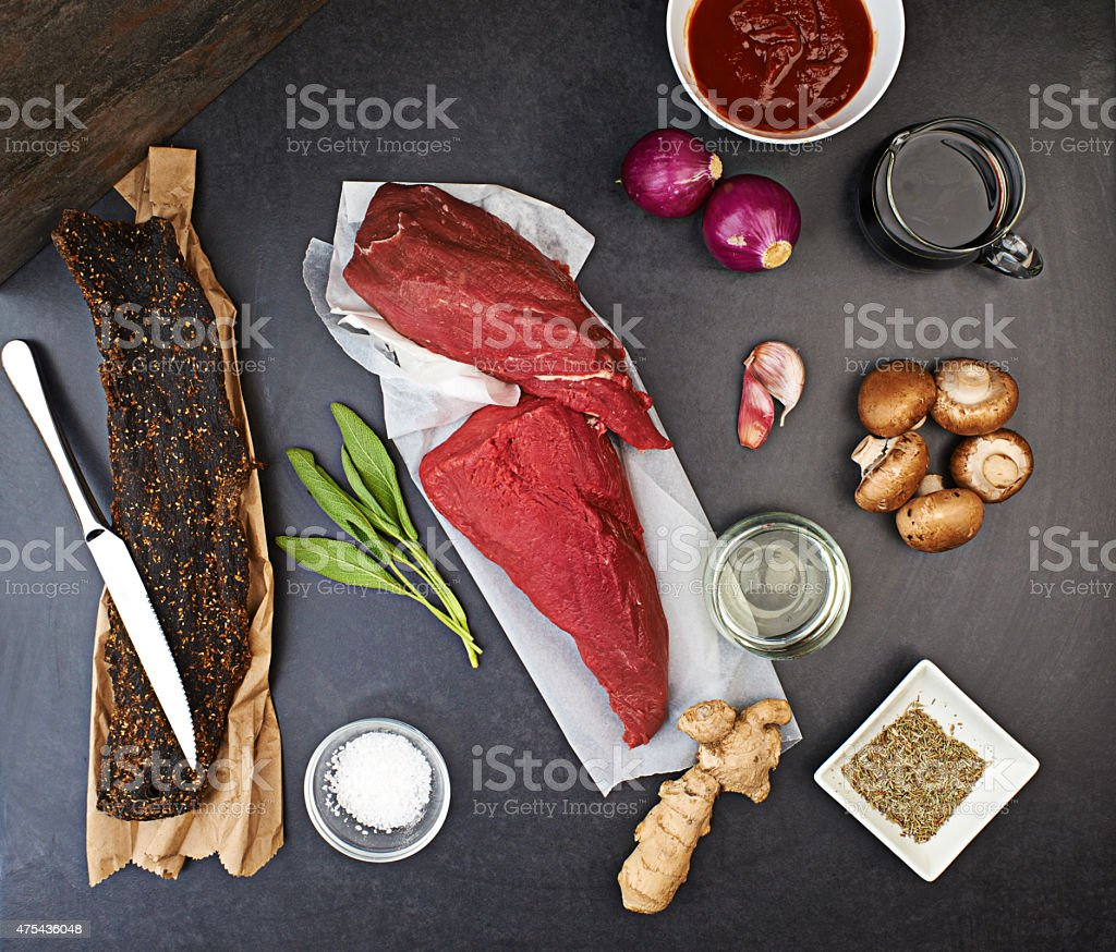 It's all about the ingredients stock photo