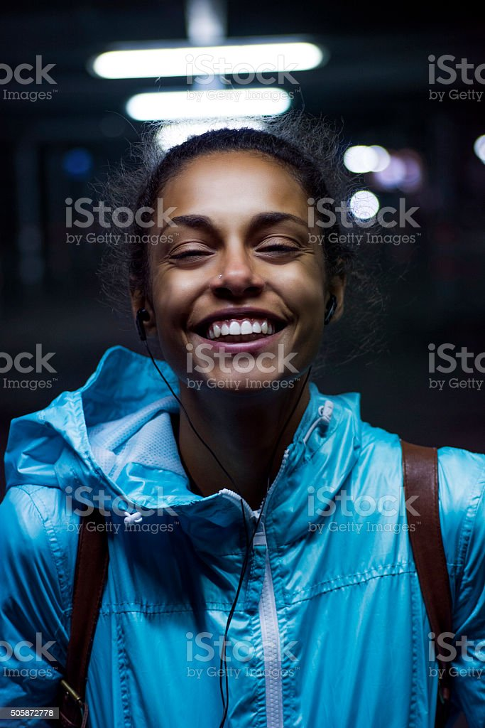 It's all about the smile! stock photo