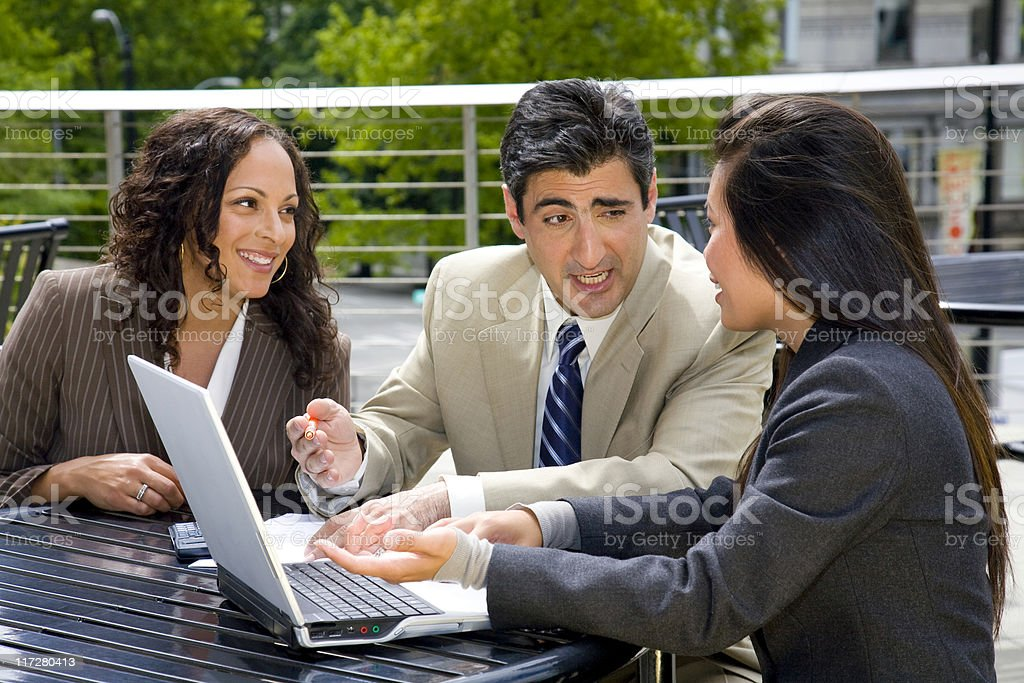 its all business royalty-free stock photo