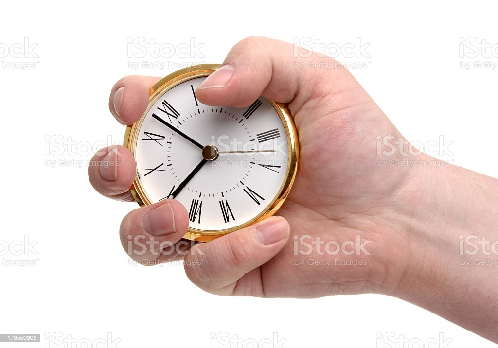 It's Almost 9 O'Clock royalty-free stock photo