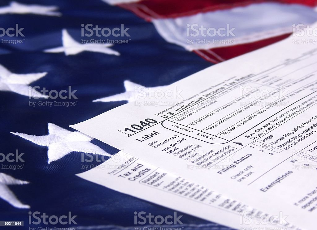 It's American Tax Time royalty-free stock photo