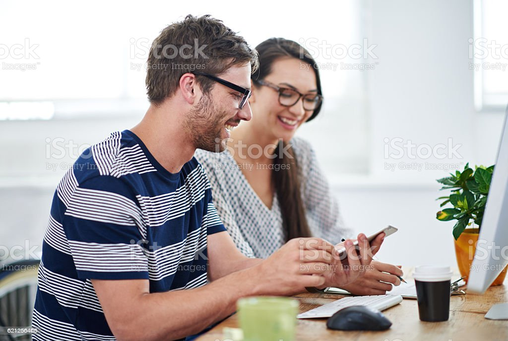 It's an amazing office tool actually stock photo