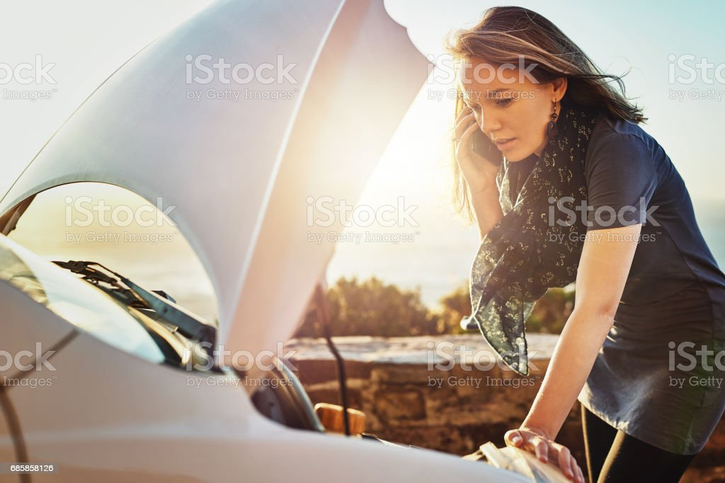 It's an emergency - please come quickly stock photo