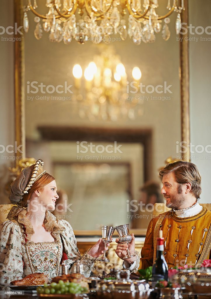 'It's been a grand harvest in the kingdom! stock photo