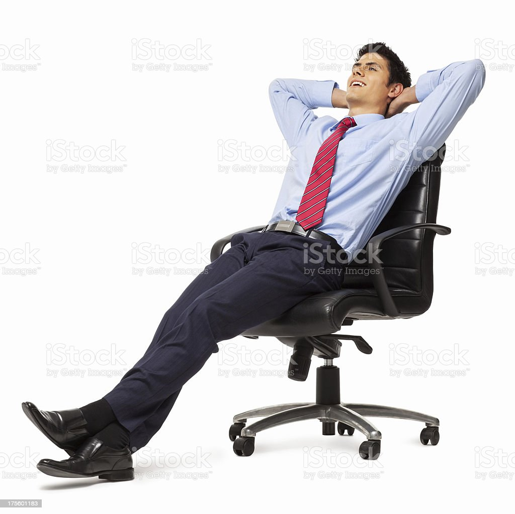 Its Break Time For Me - Isolated stock photo