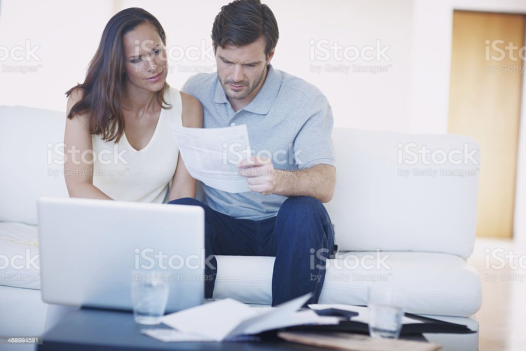 It's budgeting time again... stock photo
