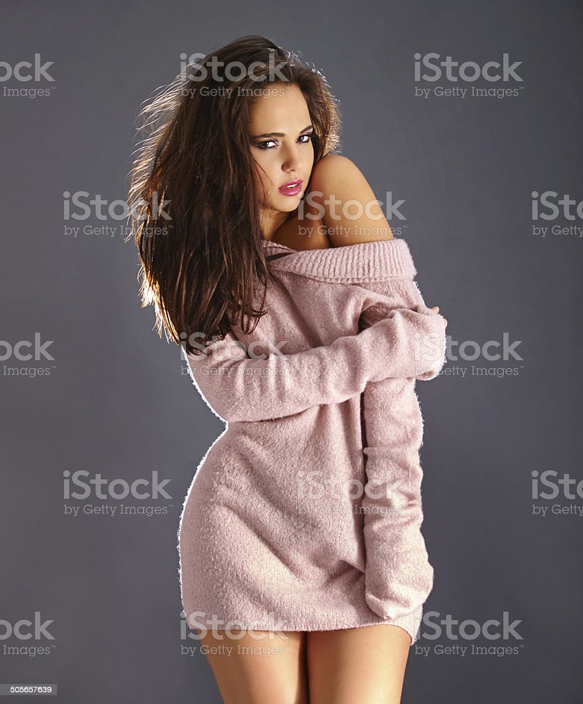 It's cold outside but warm and toasty in here! royalty-free stock photo