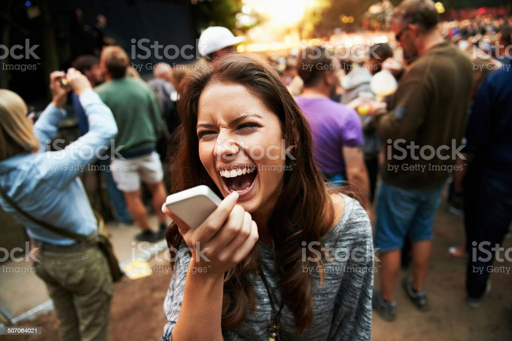 It's crazy in here! stock photo