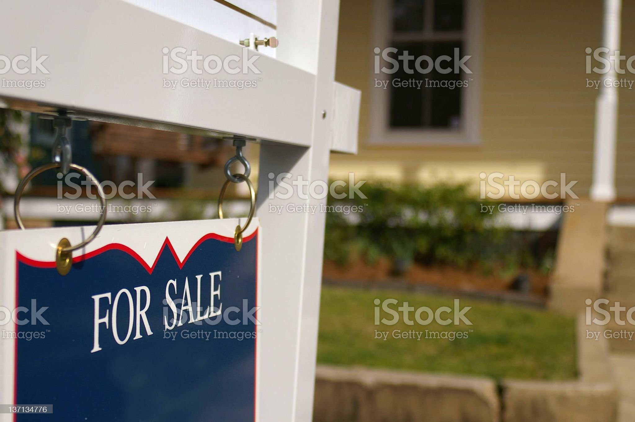It's for sale royalty-free stock photo