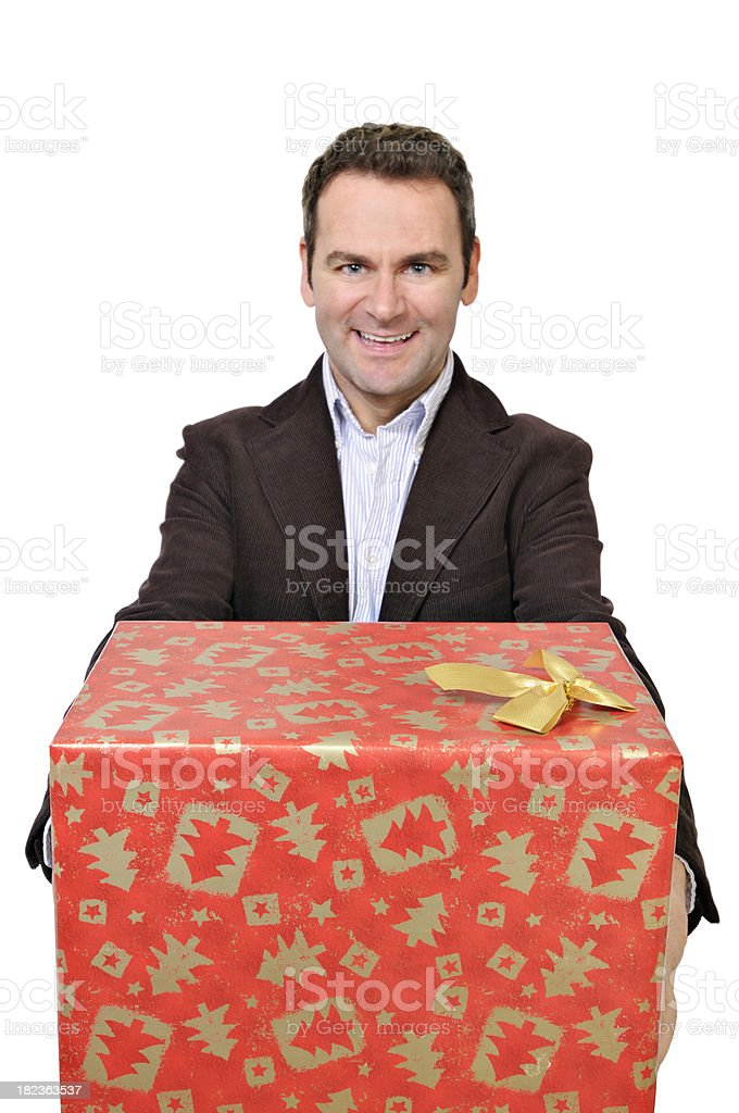 It's for you! stock photo