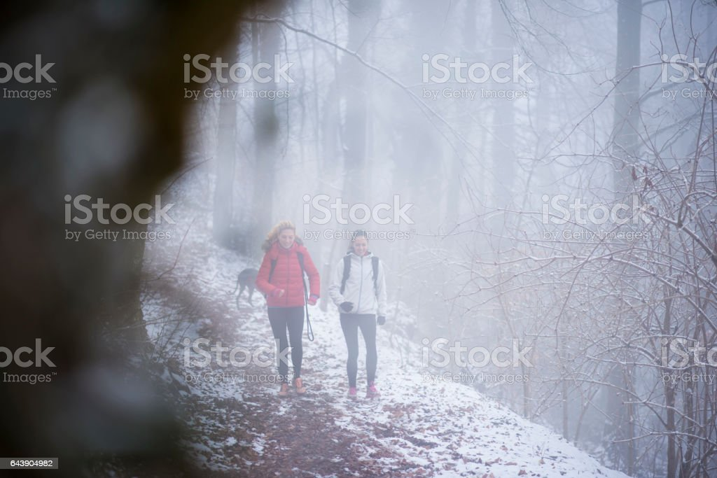 It's getting a bit chilly stock photo