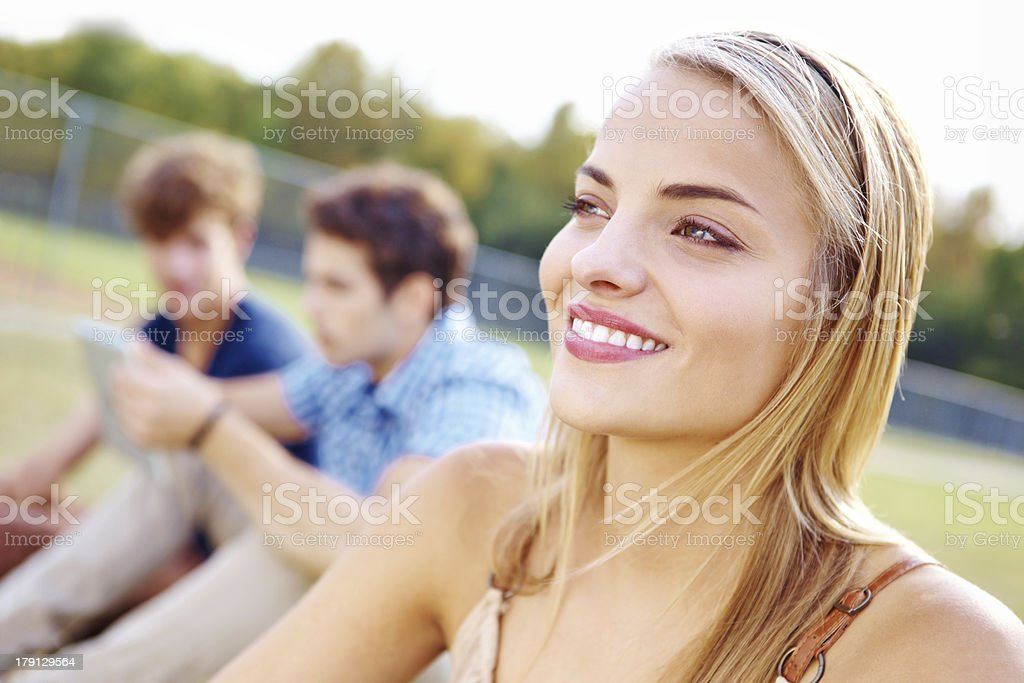 It's going to be a great summer royalty-free stock photo