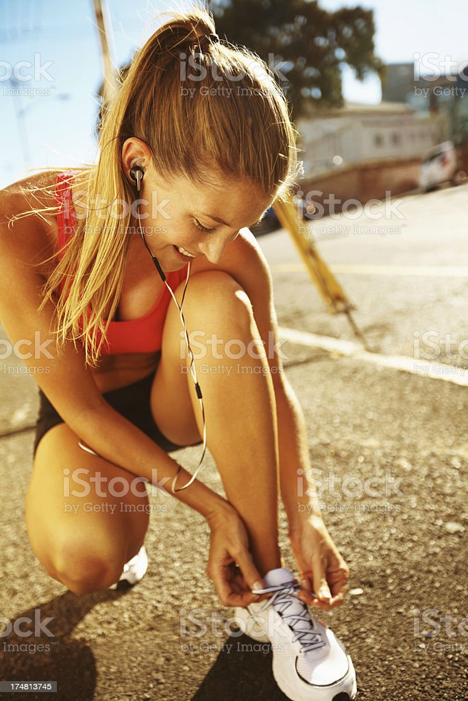It's going to be a long run stock photo