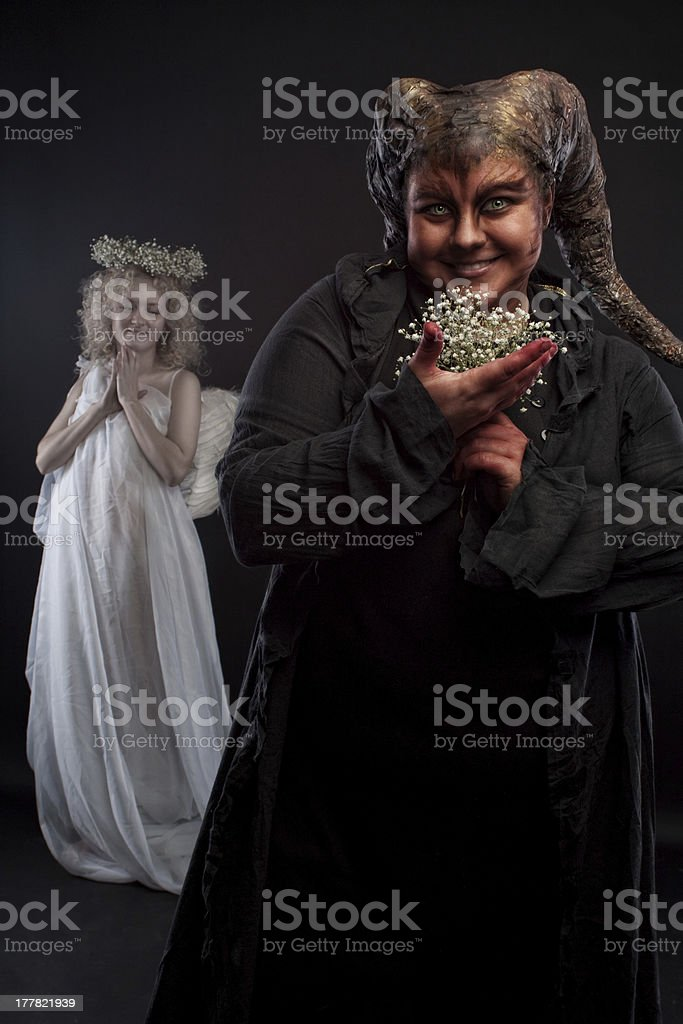 It's good to be bad royalty-free stock photo