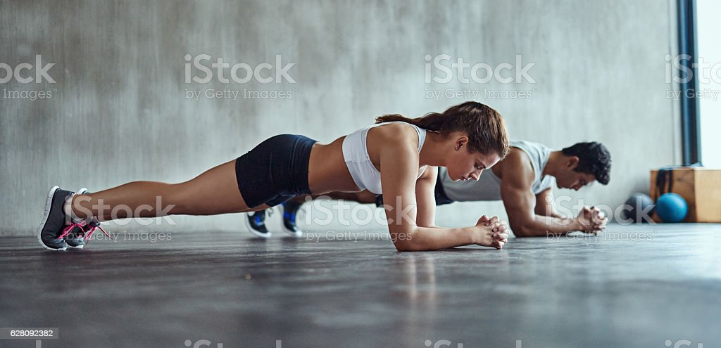 It's great for the abs stock photo