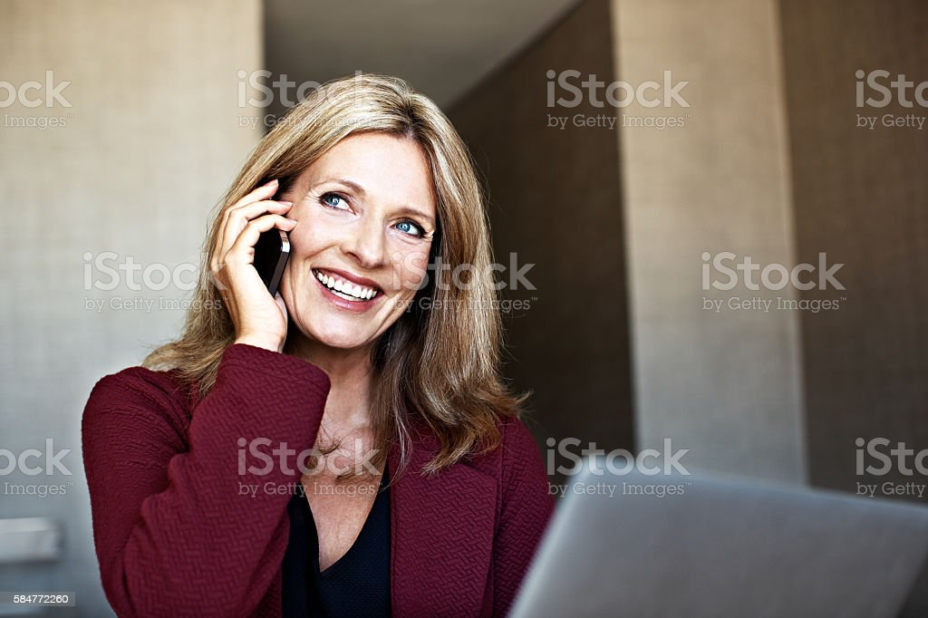 It's great to hear from you stock photo