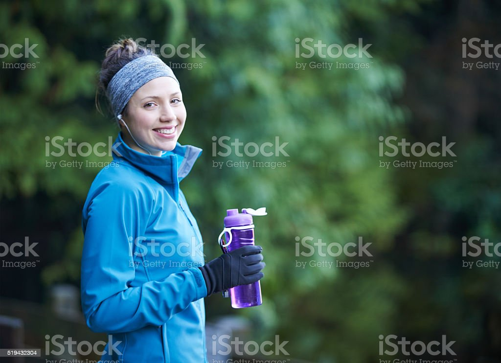 It's important to stay hydrated stock photo