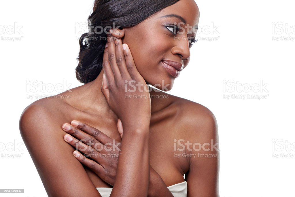 It's just so soft... stock photo