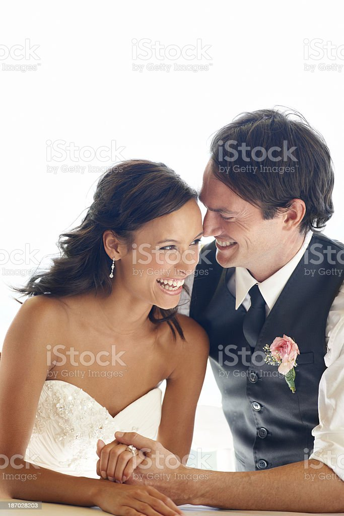 It's just you and me! royalty-free stock photo