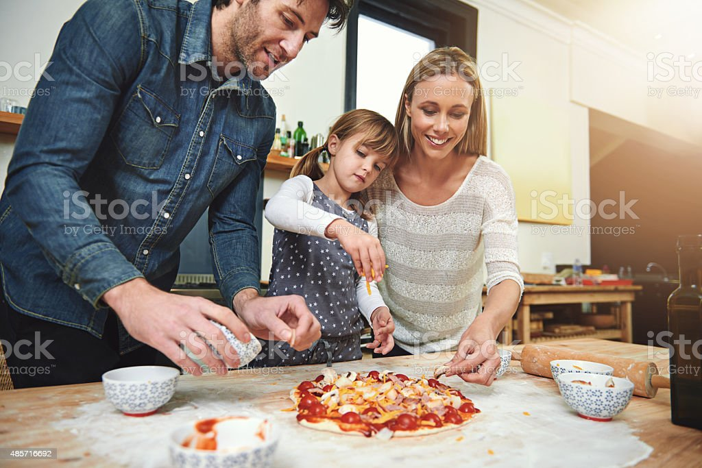 It's made with love stock photo