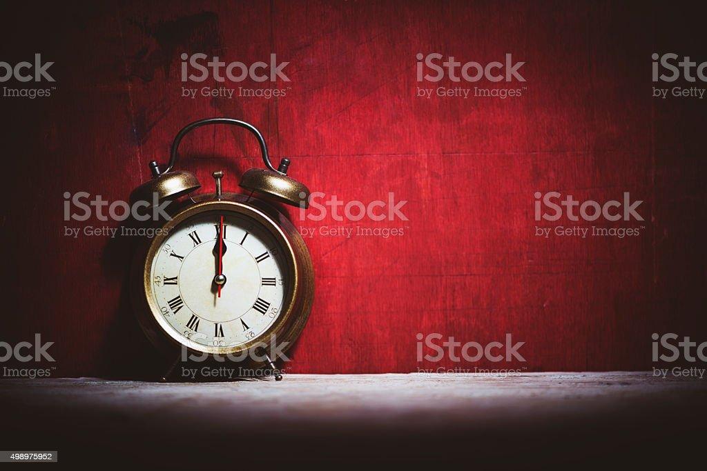 It's midnight! stock photo