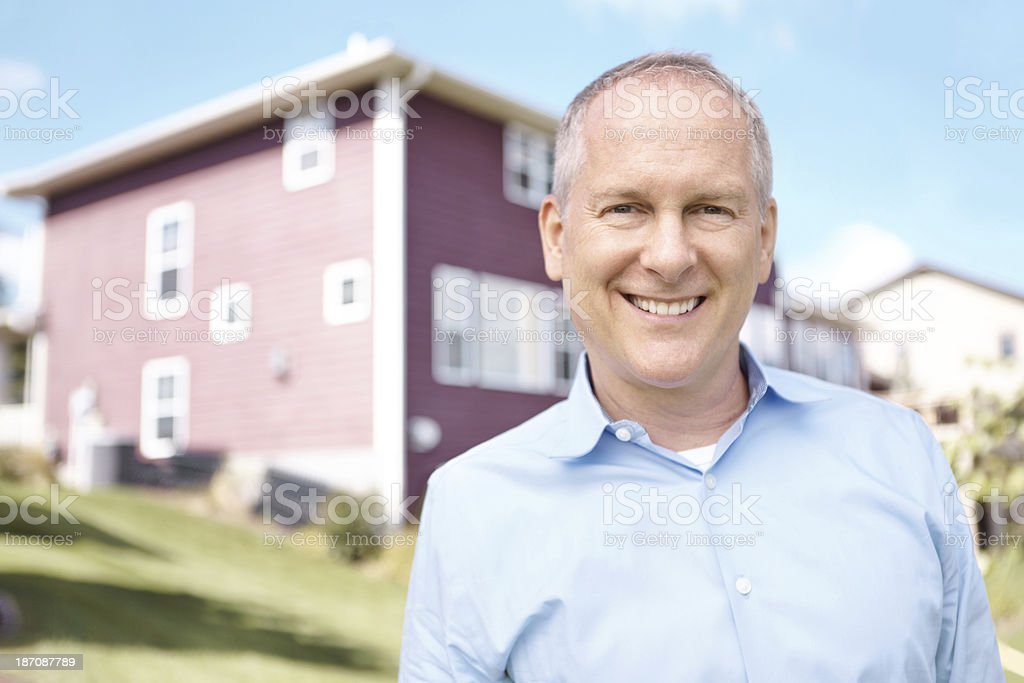 It's more than just a house... royalty-free stock photo