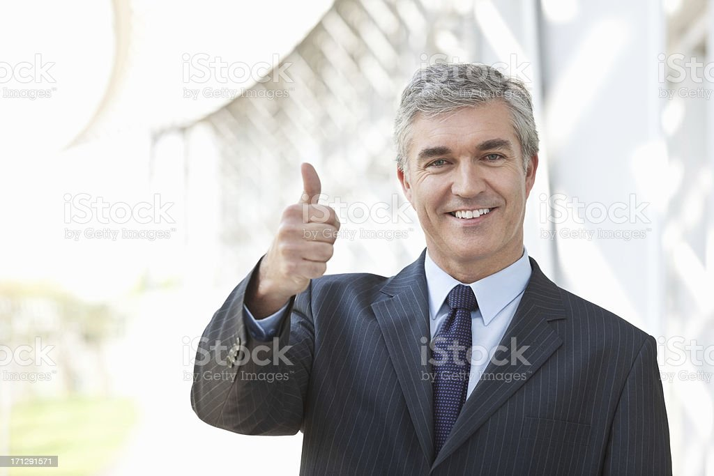 It's My Business To Have a Positive Attitude royalty-free stock photo