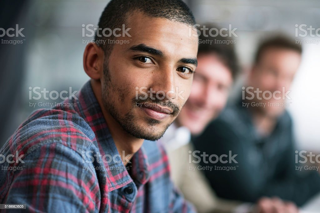It's my dream to grow this company! stock photo