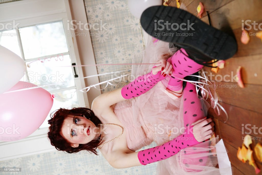 it's my party series stock photo