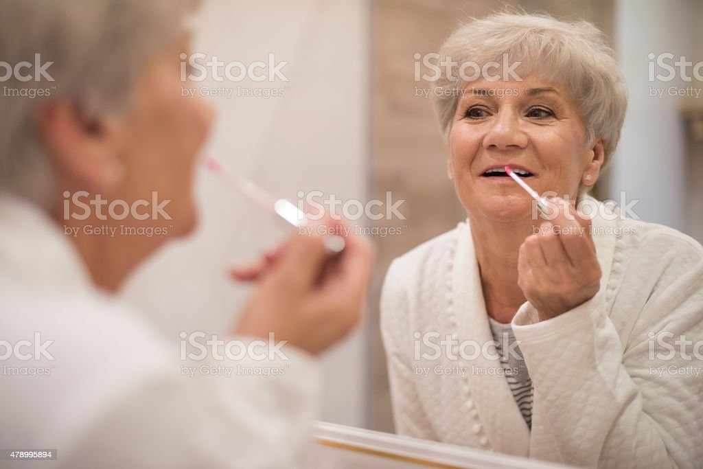 It's never too late to be attractive stock photo