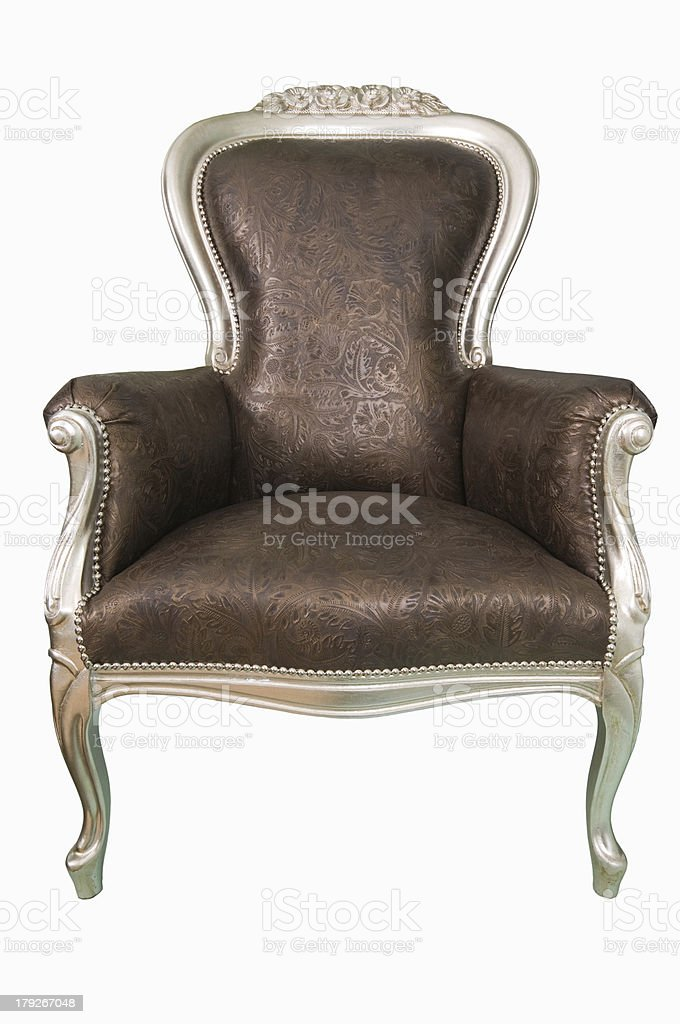 Аrmchair. royalty-free stock photo