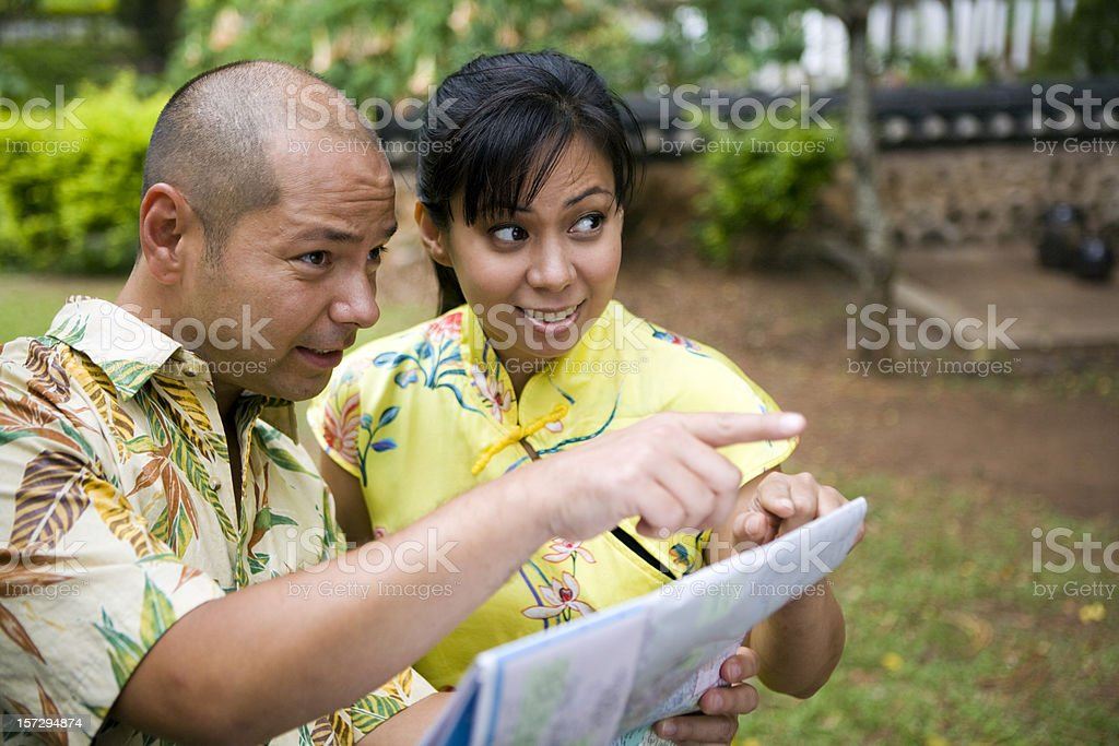 It's Over There! royalty-free stock photo