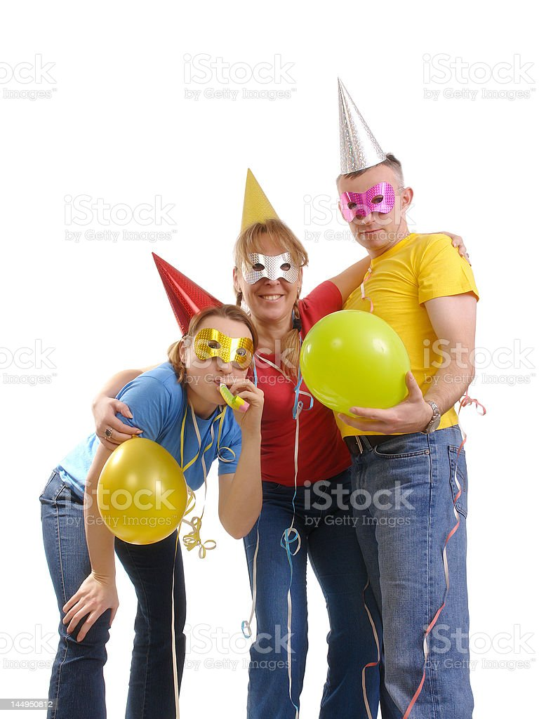 It's party time royalty-free stock photo