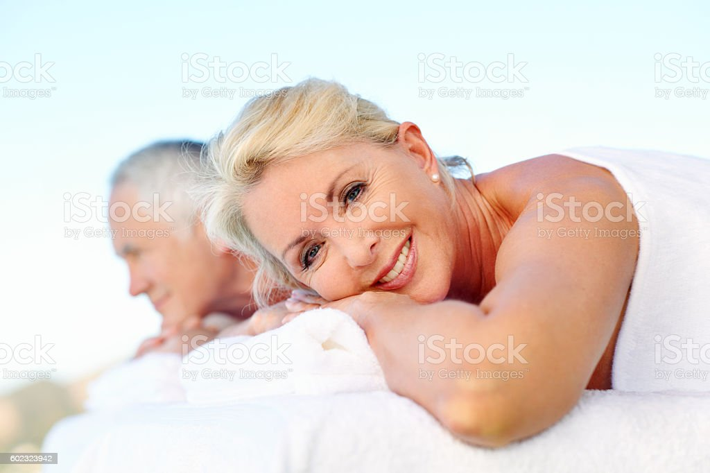 It's pure bliss stock photo