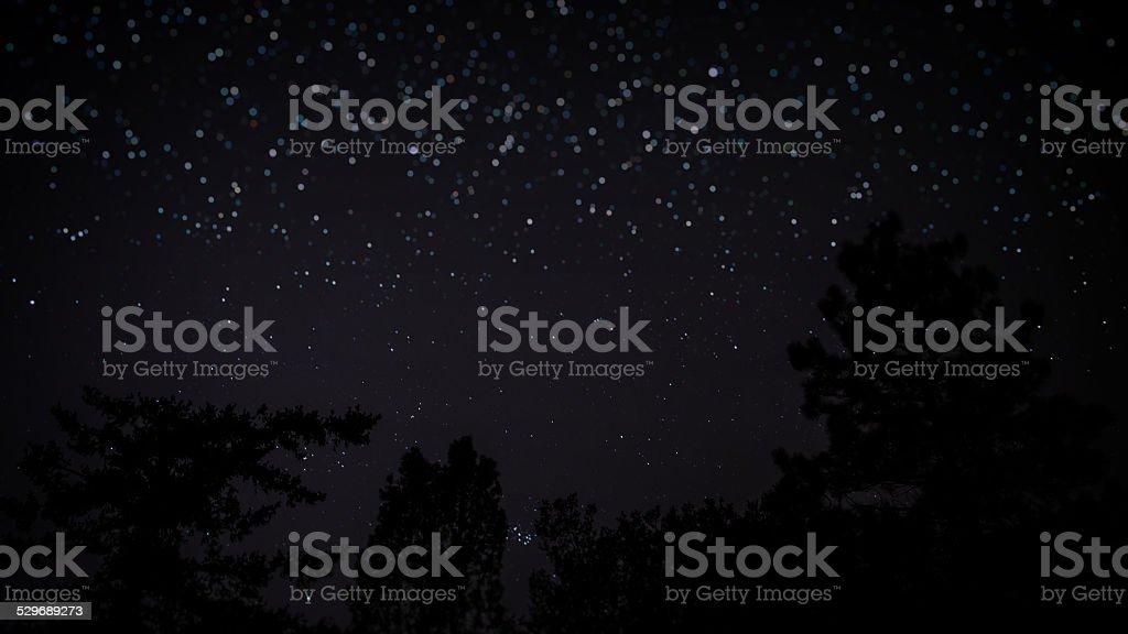 Its Raining Stars. stock photo