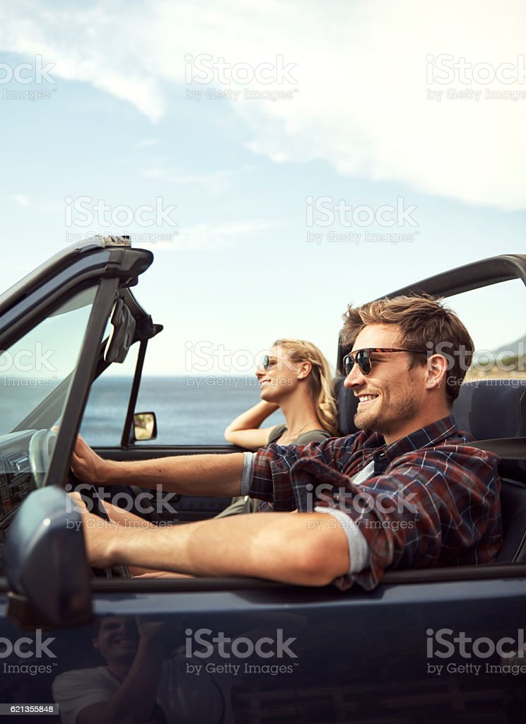 It's road trip time stock photo