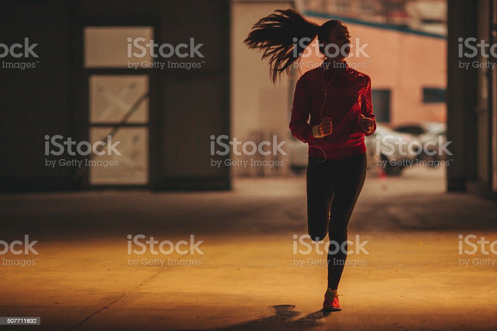 It's running time stock photo