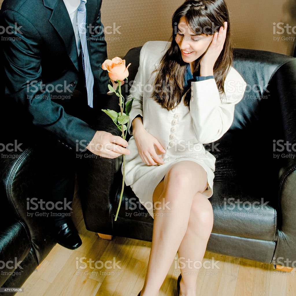It's so romantic! stock photo