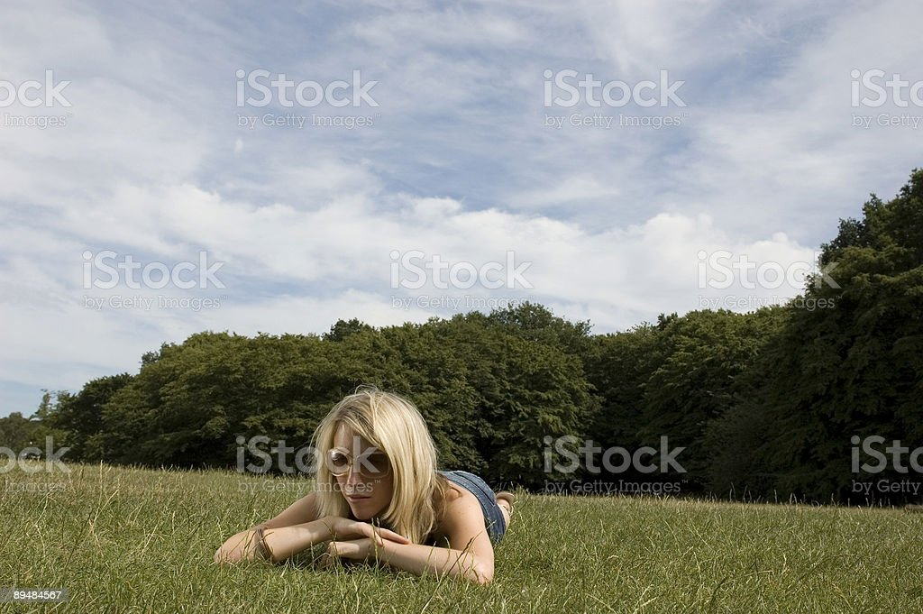 It`s Summertime - Leisure in the Park stock photo
