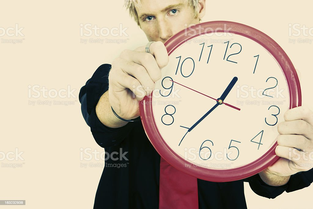 It's That Time stock photo