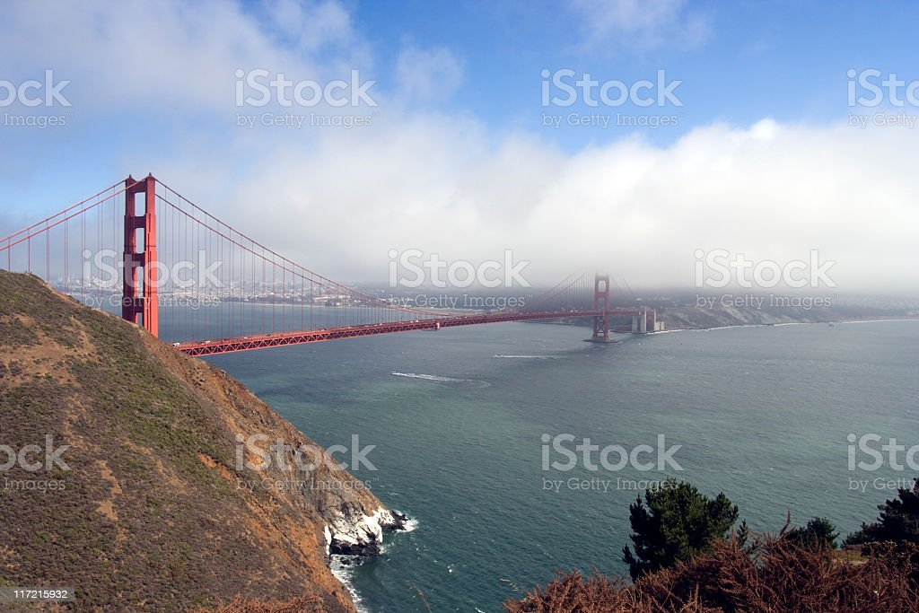 It's the Golden Gate! stock photo