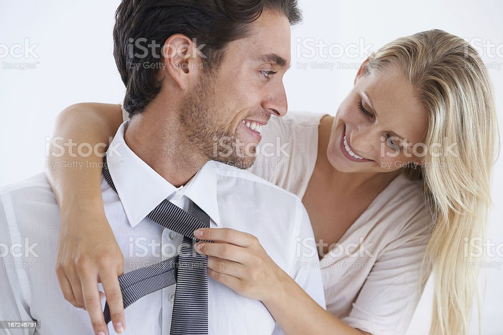 Its the little things she does... royalty-free stock photo