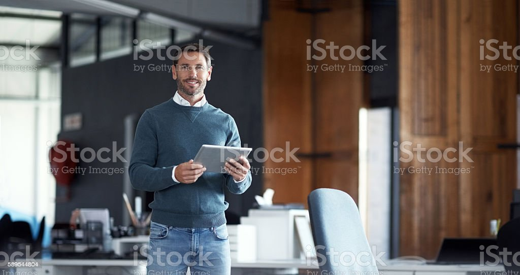 It's the only way to do business stock photo
