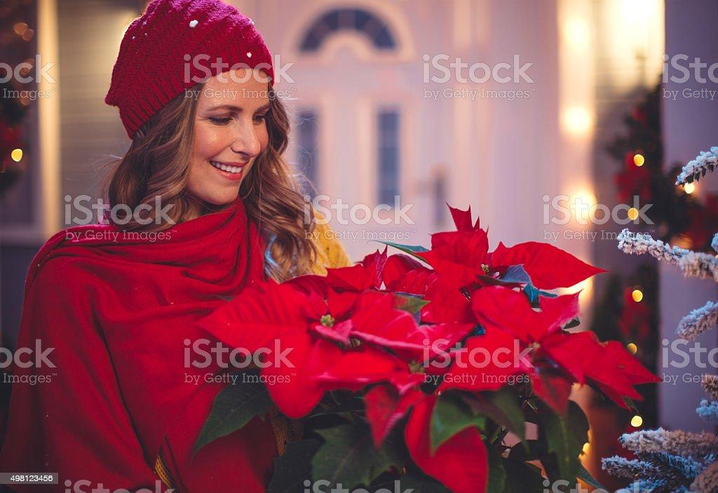 It's the season to be jolly. stock photo