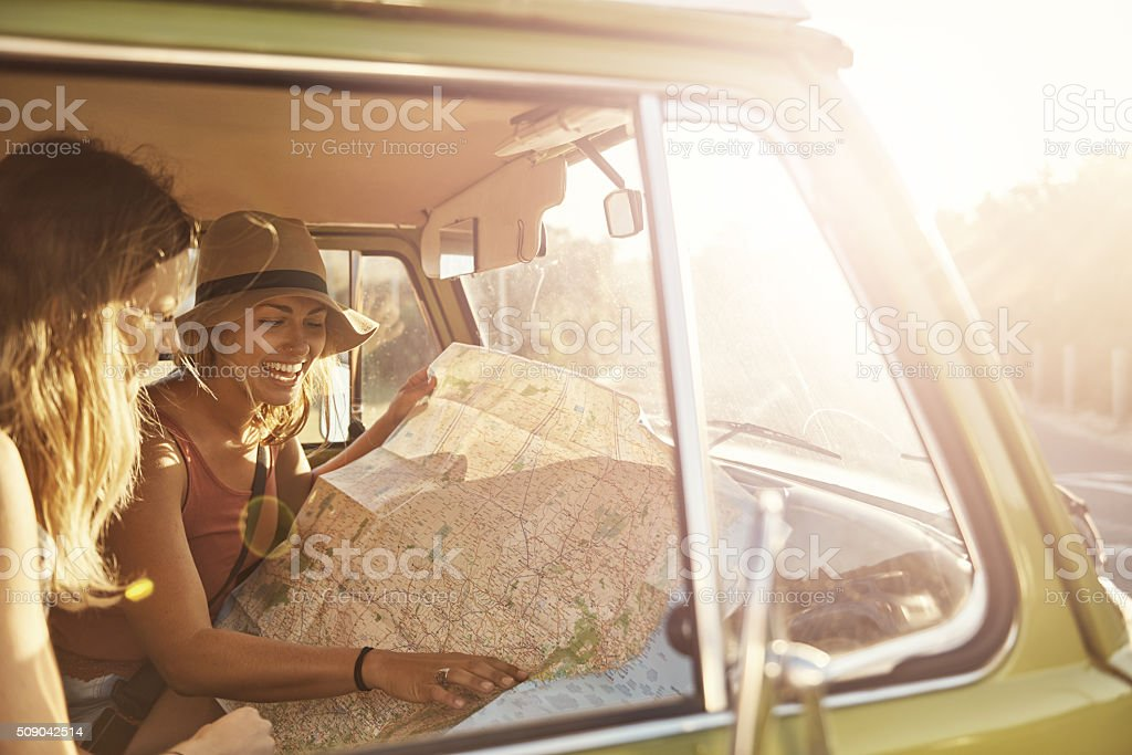 It's time for a road trip stock photo