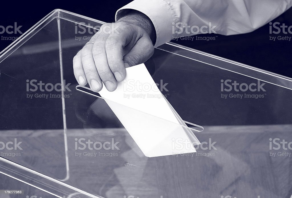 its time for elections stock photo
