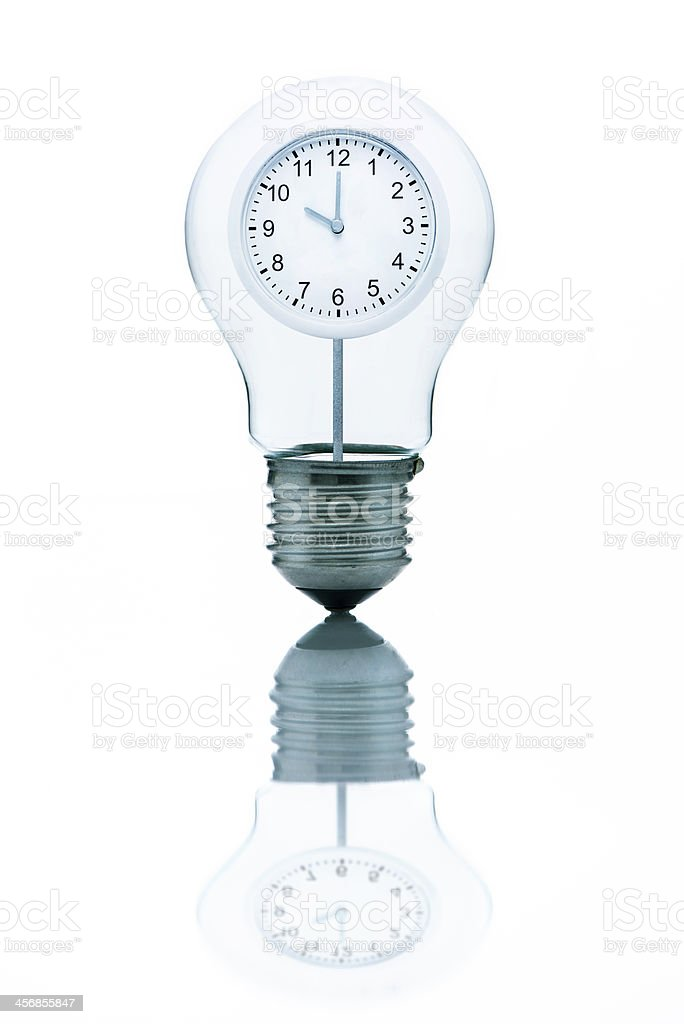 It's time for great ideas royalty-free stock photo