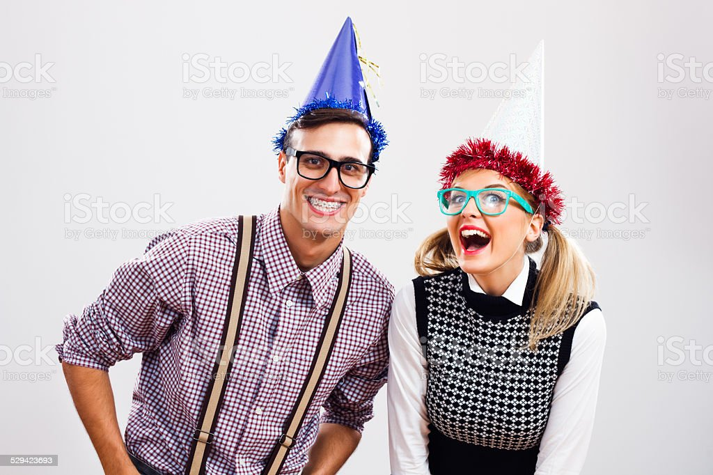 It's time for party! stock photo