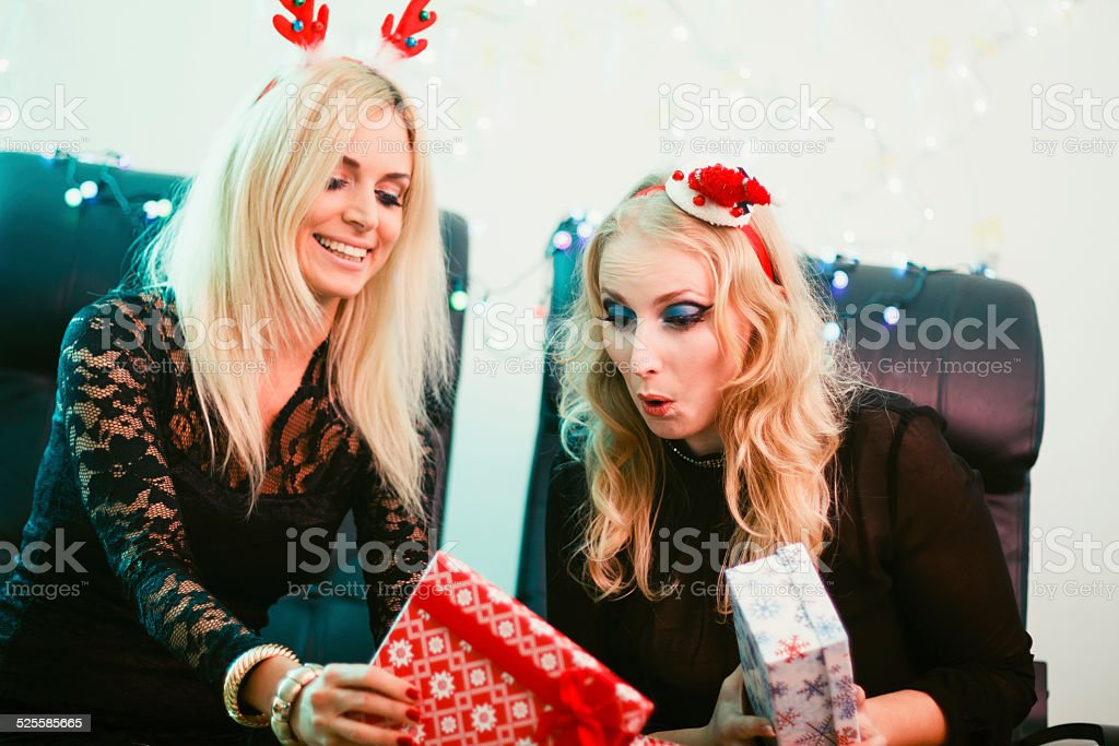 It's time for presents! stock photo