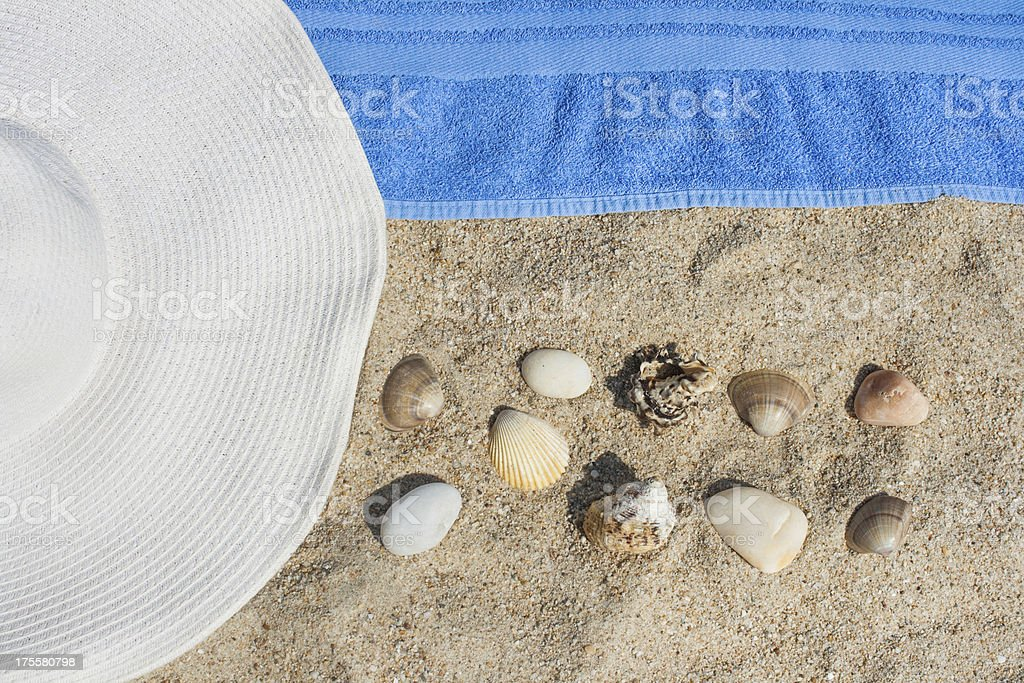 It`s time for the beach royalty-free stock photo